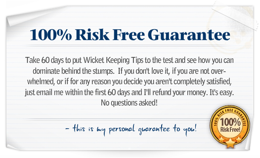 Wicket Keeping Tips Guarantee