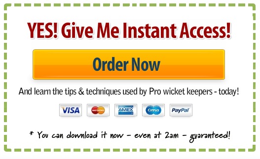 Click Here to Order Wicket Keeping Tips Now