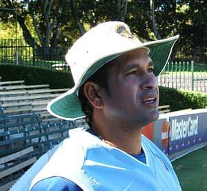 Sachin Tendulkar At Adelaide Oval
